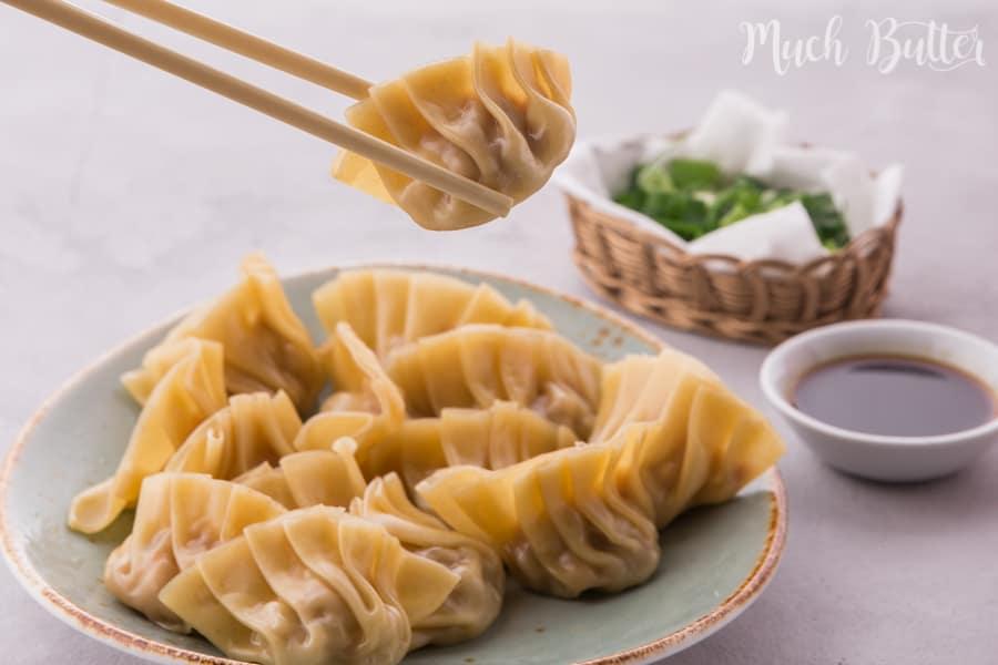 Chicken and Shrimp Dumplings 4 Ways