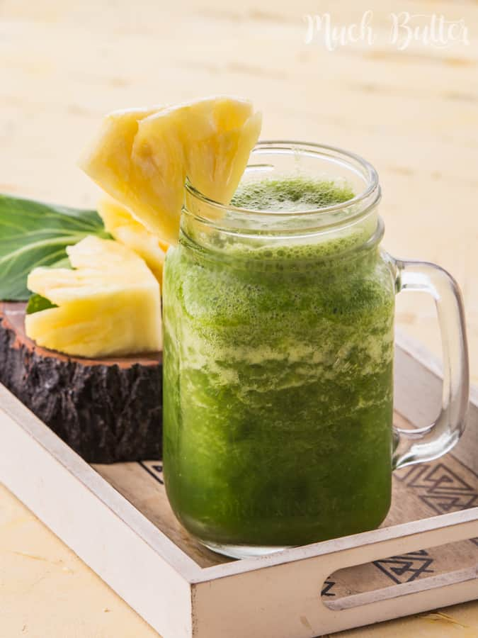 Healthy Green Smoothies - Much Butter
