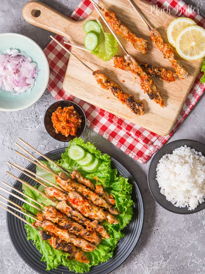 Spicy Taichan Chicken Satay is one of viral dish from Indonesia since 2016. Try this spicy and refreshing recipe! It's suitable for you who doing Keto diet.