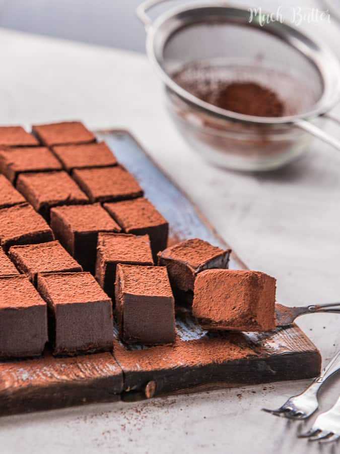 This Nama Chocolate recipe is homemade and copycat from the famous Japanese Nama Chocolate. It's also halal and kosher recipe.