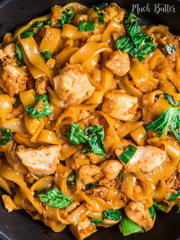 Chicken kwetiau stir fry is a Chinese Indonesian and Malay Singaporean dish. This delicious dish is actually quick and easy to make at home.