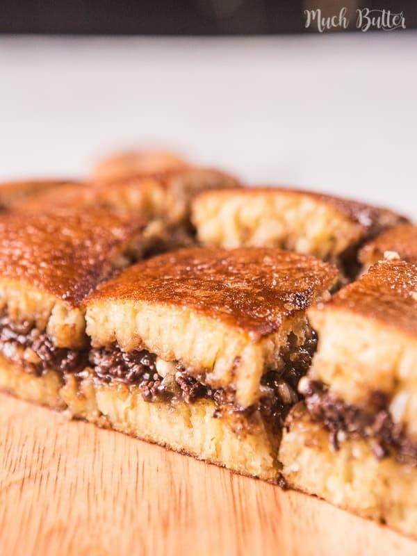 Chocolate Peanut Martabak Indonesian Giant Pancake Much Butter