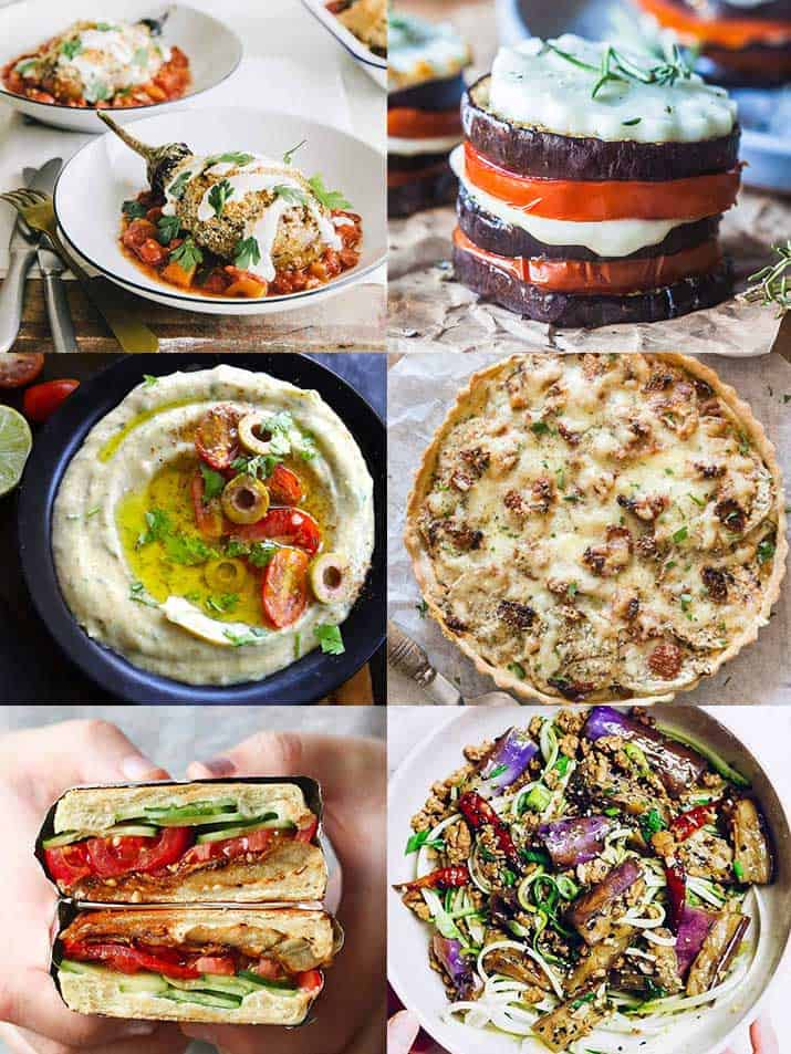 18 inspirational eggplant recipes for awesome lunch and dinner are dedicated to people who love eggplant (aubergine) but want to upgrade their skills or try something new.