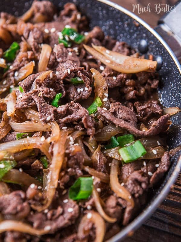 Beef teriyaki is a quick and easy Japanese cuisine famous around the world. Savory and umami beef dishes that require few ingredients.