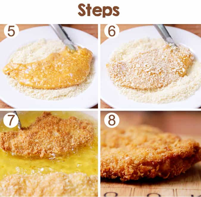 This classic crispy chicken katsu is easy to make. You can try make it by yourself at home and the ingredients are quite simple.