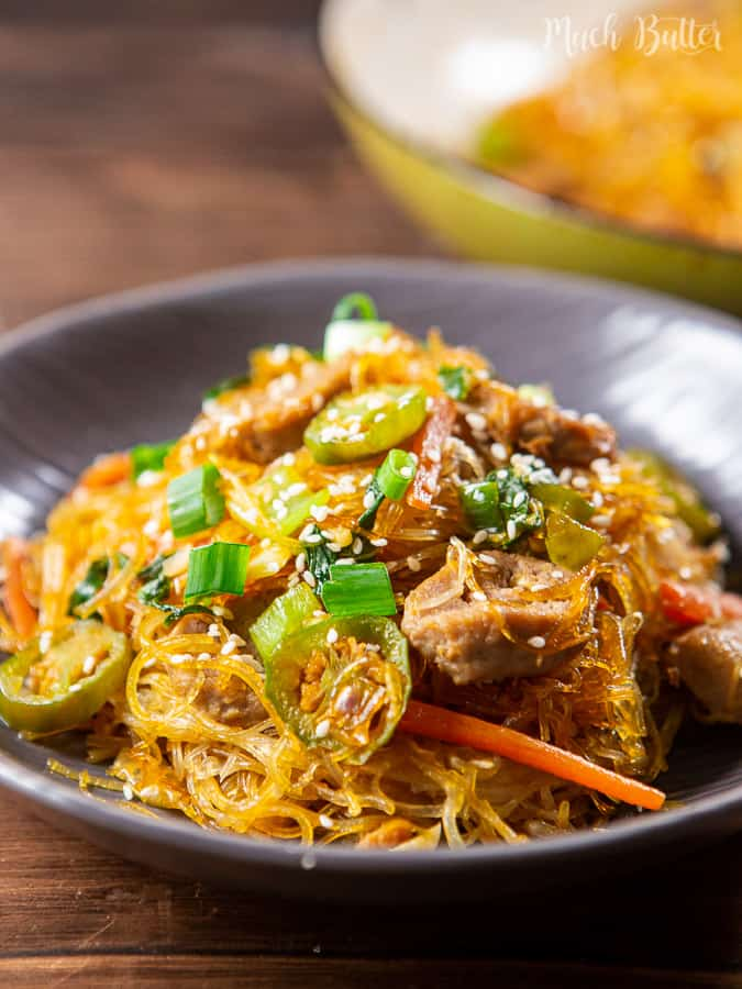 Meatball vermicelli stir fry is a simple comfort food consist of meatball and vermicelli. It is one of the famous comfort food in Asia included Indonesia. Almost every house here familiar with the taste of this menu. It tastes sweet and savory.