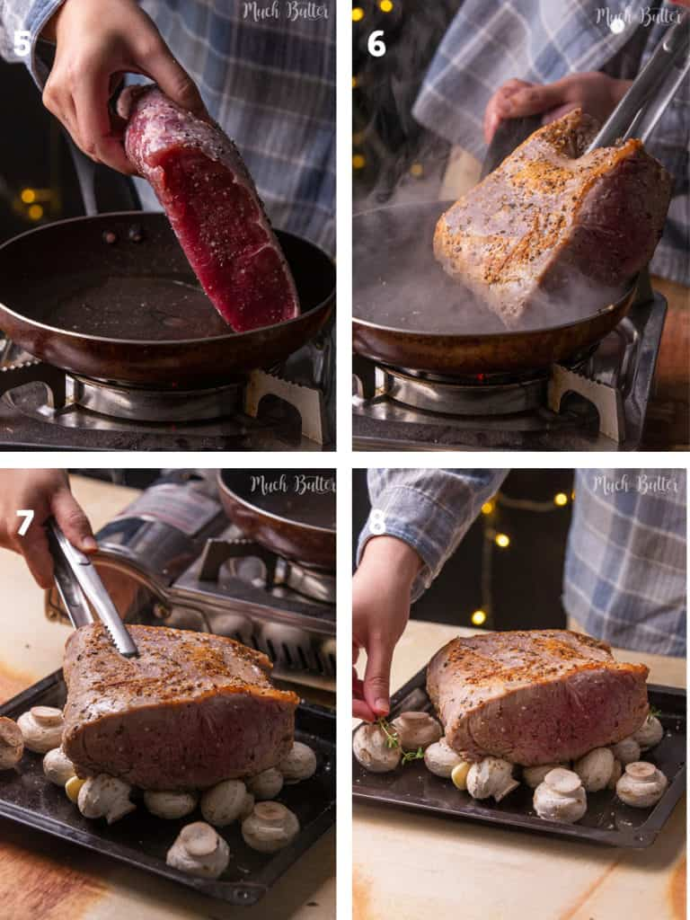 The Steps of How to Make Roast Beef and Gravy
