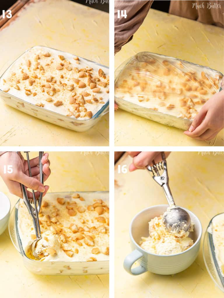 the steps of How to Make Magnolia Banana Pudding