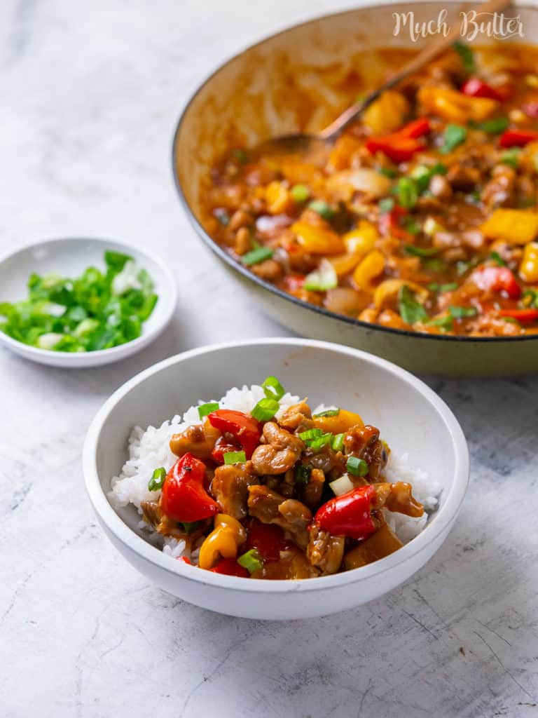 Chicken Paprika Stir Fry is an easy and quick recipe to enjoy for lunch or dinner. Packed meal with delicious chicken, tangy sauce, and a kick flavor. Everyone will appreciate this tasty and tempting food!