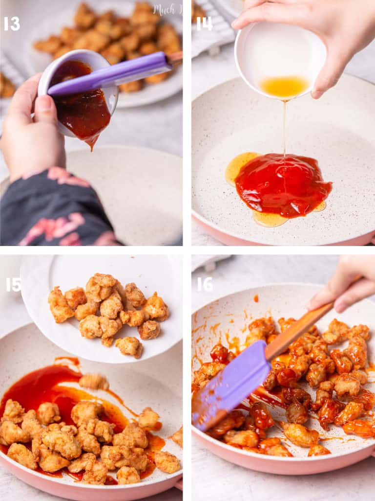 Are you a fan of K-drama movies?  Korean Popcorn chicken with gochujang sauce has a unique taste for spicy lovers. I will tell you why!